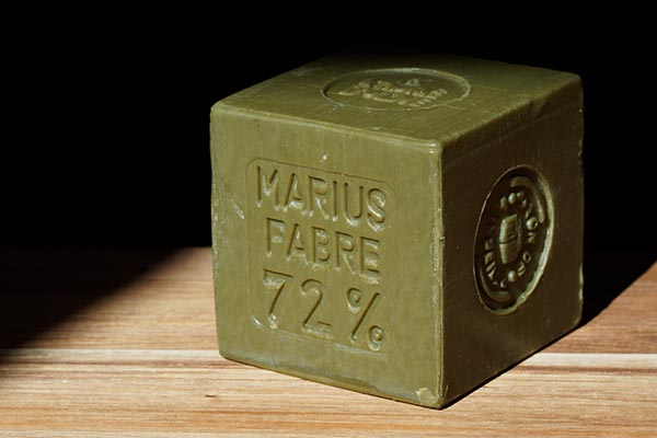 Marseille soap from Savonnerie Marius Fabre