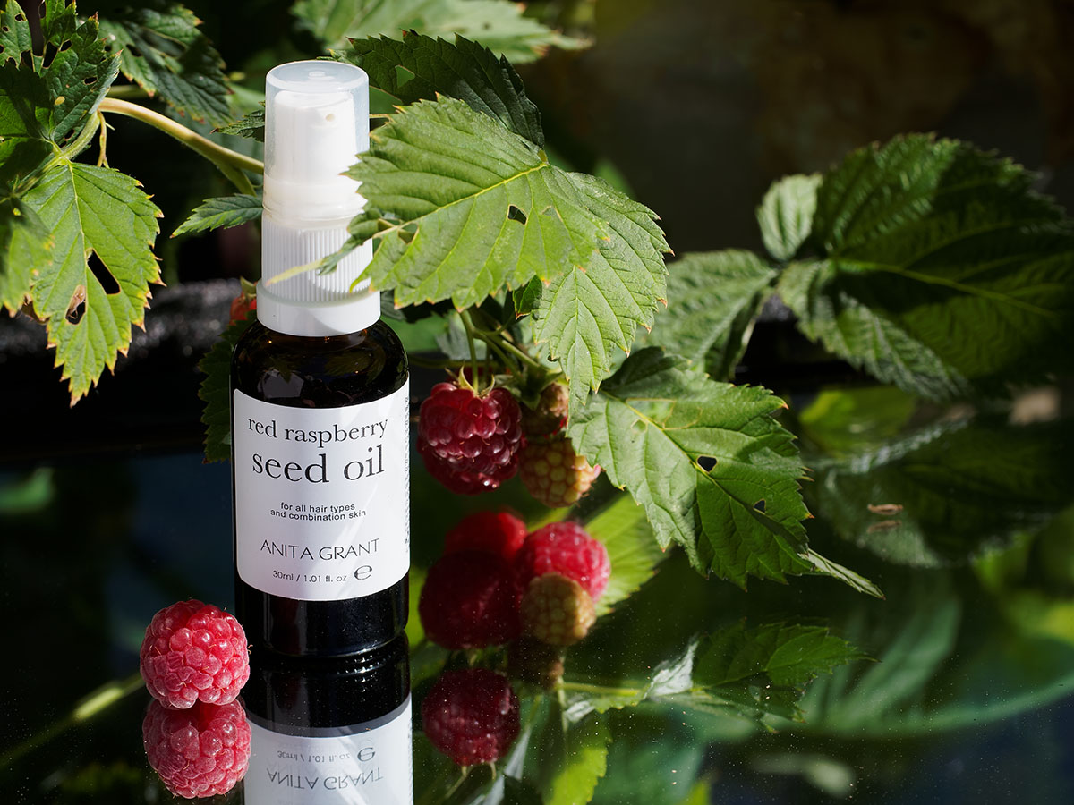 Raspberry seed oil not a sunscreen